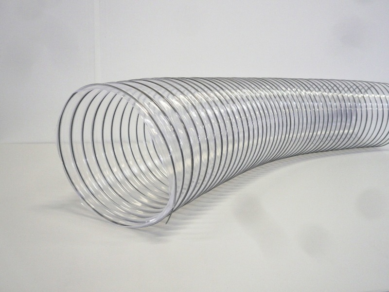 absauganlage lüftung pellets hobelmaschine späne PULPUR Absaugschlauch 125 mm f